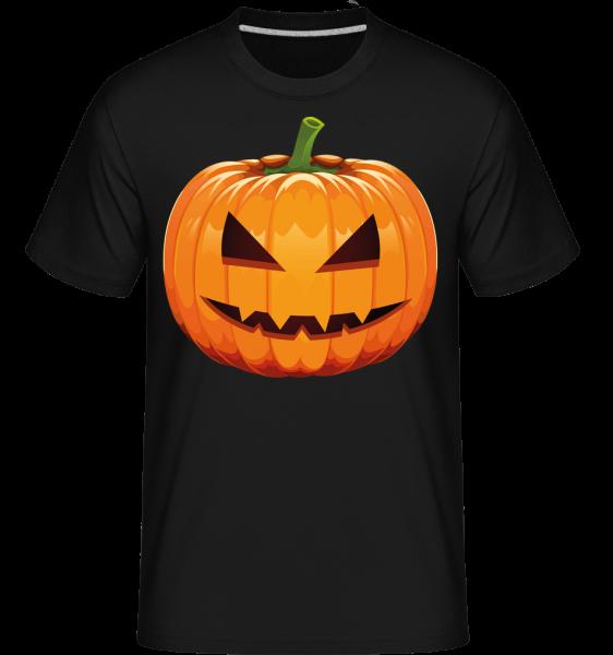 Grinning Pumpkin -  Shirtinator tričko pre pánov - čierna - Predné