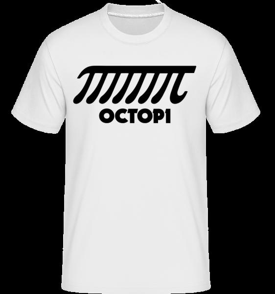 chobotnice -  Shirtinator tričko pre pánov - Biela - Predné