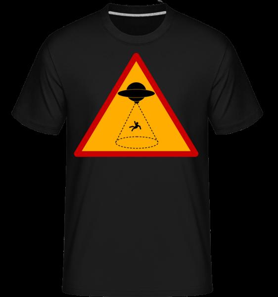 ufo Zone -  Shirtinator tričko pre pánov - Čierna1 - Predné
