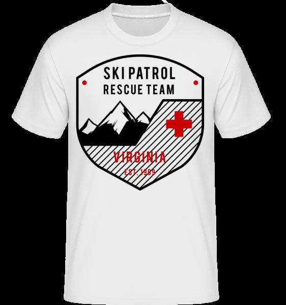 Ski Patrol Sign -  Shirtinator tričko pre pánov - Biela - Predné