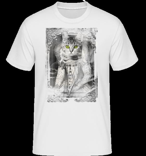 mačky Obrazy -  Shirtinator tričko pre pánov - Biela - Predné