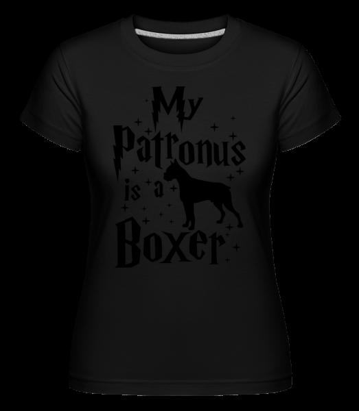 My Patronus Is A Boxer - Shirtinator tričko pre dámy - Čierna1 - Predné