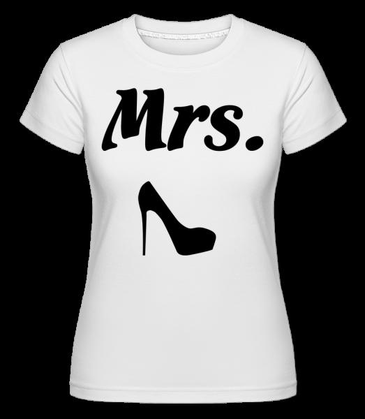 pani Wedding - Shirtinator tričko pre dámy - Biela - Predné