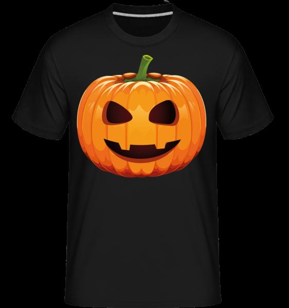 Laughing Pumpkin -  Shirtinator tričko pre pánov - čierna - Predné