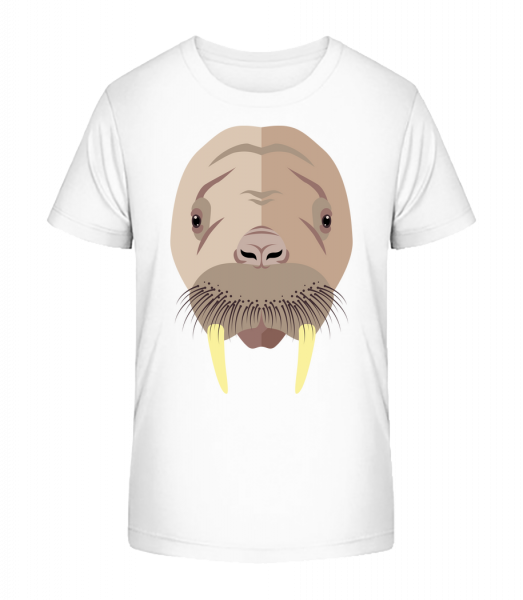 Seal Comic Tieň - Detské Premium Bio tričko - Biela - Predné